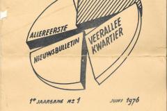 Voorkant kwartaaltje nr1 1976